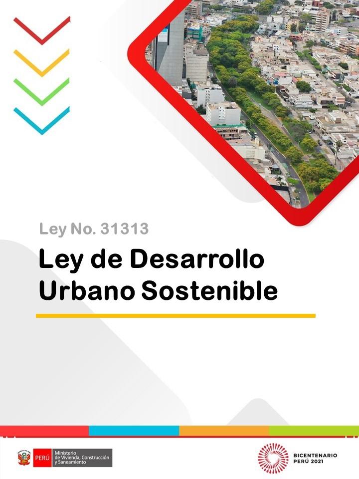 Ley de Desarrollo Urbano Sostenible