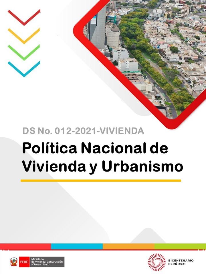 Política Nacional de Vivienda y Urbanismo